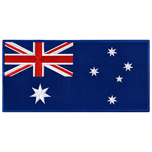 Large Australia Flag Embroidered Patch Australian Iron-On National Emblem - 518mNb3WKnL. SS500 - Getting Down Under Tops, Tees and Blouses