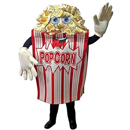 Rasta Imposta Popcorn Wavers Mascot Adult Costume ()