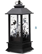 Iusun Halloween Candle Light, 1PC Pattern Candles Light for Halloween Party Home Garden Lawn Yard Decoration (B)