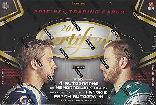 2016 NFL Panini Certified Football Hobby Box by Panini