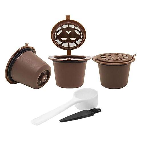 Geagodelia - Cápsulas de filtro de café reutilizables (4 unidades ...