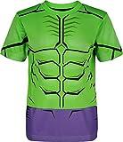 Marvel Avengers Hulk Little Boys' Athletic T-Shirt