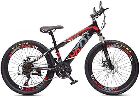 Zonix Bicicleta Niños Niñas MTB 26 Pulgadas 21 Velocidad Negro ...
