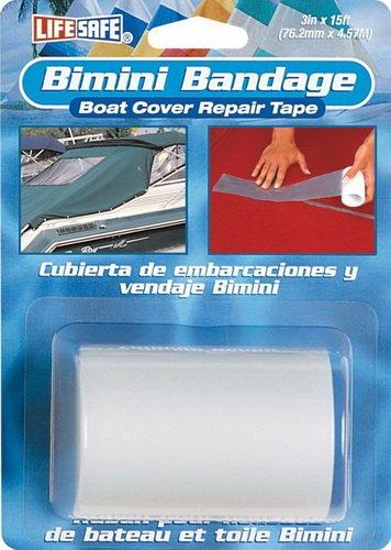 Incom 834-RE3868 Cinta Adhesiva Reparadora, Color Transparent, Lonas/Toldos Bimini, 76 mm x 4,6 M