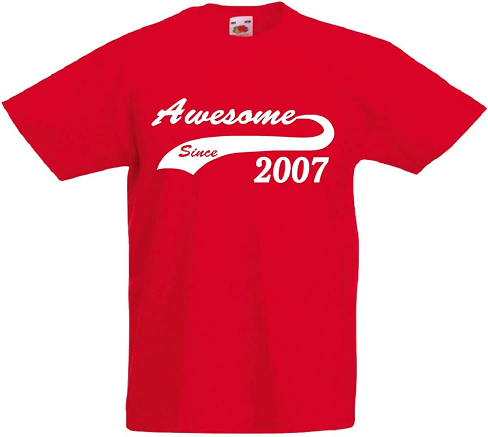T-Shirt for 13 Year Old Boys loltops Awesome Since 2007