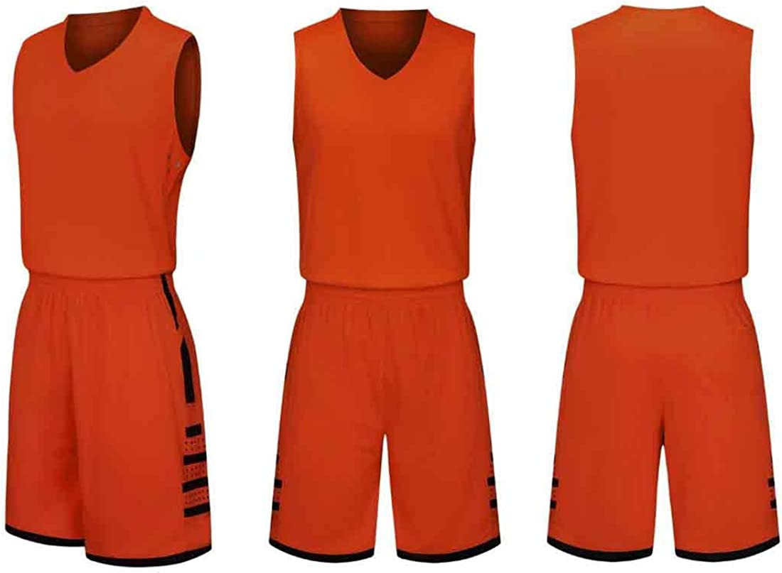 Aiweijia Spring and Summer Basketball Uniform Training Vest absorbs Sweat and Breathable Suit Running Fitness Vest Sleeveless Basketball Clothes Suit