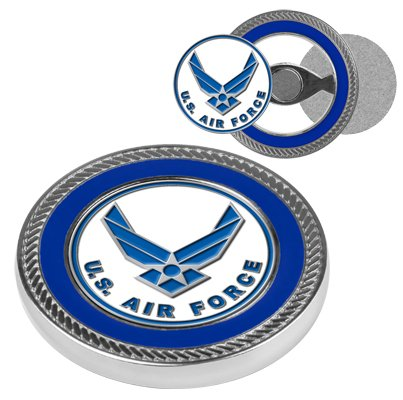 US Air Force Challenge Coin with 2 Golf Ball -