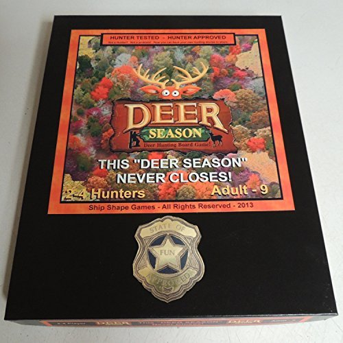 Ship Shape Games Deer Season - Hunting Board Game