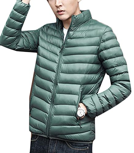 Lightweight Down Winter Men Ultra Jacket Casual today UK Warm Green Army YwCBUqC6x