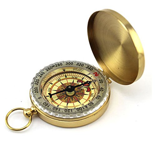 Bright Best Camping Survival Compass | Glow in The Dark Military Compass Survival Gear Compass Waterproof Luminous Compass Camping Gear Survival Gear ()
