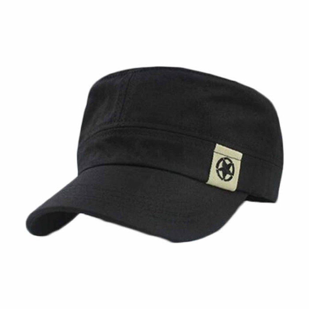 851bbd3e98 Malloom® Tetto piano militare Hat cadetto Patrol Cappello australiano di  baseball cappello Campo Cap (caffè): Amazon.it: Abbigliamento