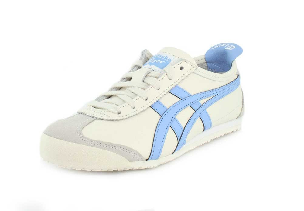 Onitsuka Tiger Mens Mexico 66 Sneaker B07FJQG4K6 8.5 D(M) US|Cream/Blue Bell