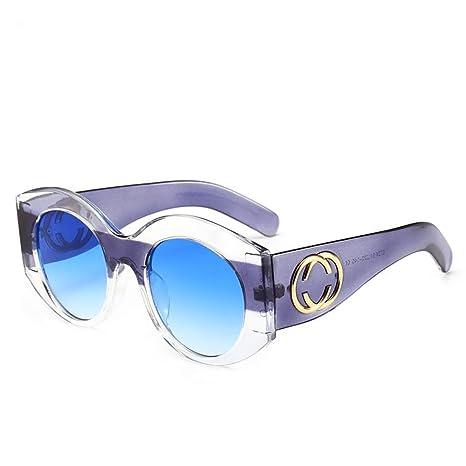 Yangjing-hl Gafas de Sol de Moda Tendencia Gafas de Sol ...