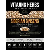 Siberian Ginseng Extract Powder (Eleuthero Root) 20:1 Concentration (2oz / 57gm) by VitaJing