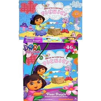 Amazon Com Doc Mcstuffins Floor Puzzle 46 Piece Toys