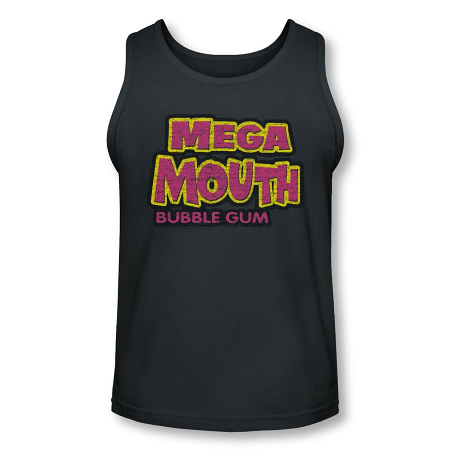 Dubble Bubble - Mens Mega Mouth Tank-Top