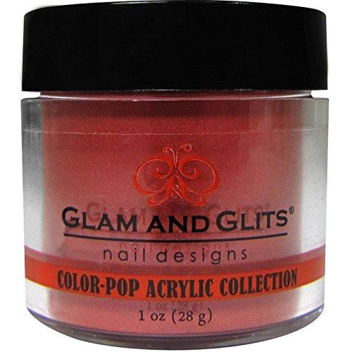(Glam and Glits Powder Color Pop Red Bikini #371)