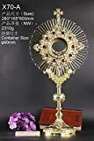 Rare Fine Monstrance with Zircon, Beautiful and Affordable! 23 3/5'' High X70-A
