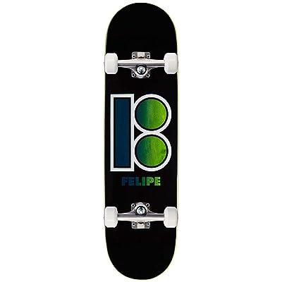 """Plan B Felipe Black Out Skateboard Complete - 8.30"""" : Sports & Outdoors"""