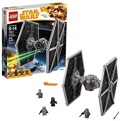 LEGO Star Wars Imperial TIE Fighter 75211 Building Kit (519 Piece) (Star Wars Imperial Tie Fighter)