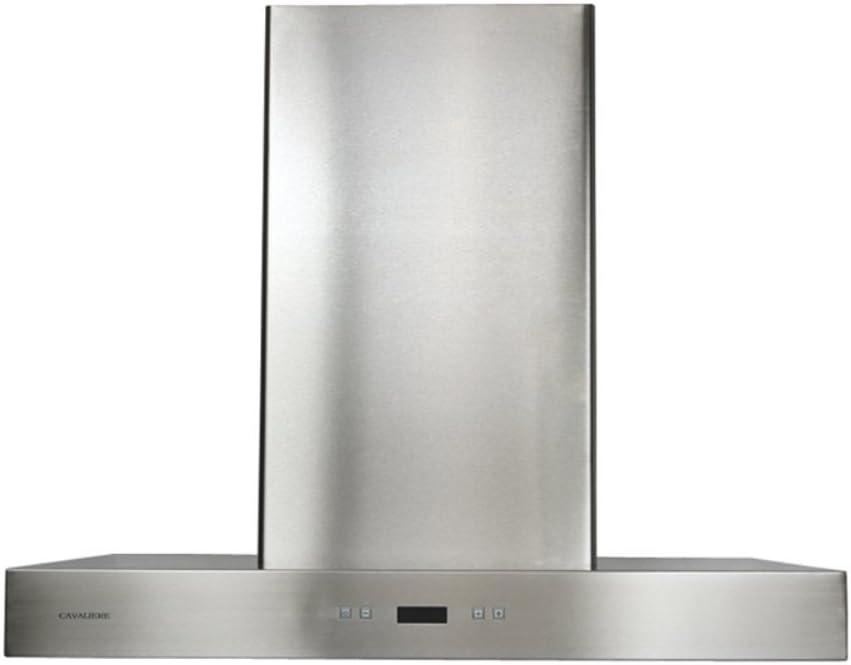 B000Q6NZU0 CAVALIERE SV218Z-30 Wall Mounted Stainless Steel Kitchen Range Hood 900 CFM 518mSUBfeWL.SL1000_