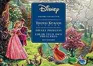Disney Dreams Collection Thomas Kinkade Studios Disney Princess Color Your Own P