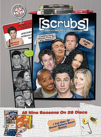 Scrubs, the Complete Series, Seasons 1-9