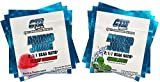 BCAA Powder for Women and Men, Best Amino Acids Supplement for Workout and Recovery, Amino Juice 6 Serving Variety Pack ( 3 Packets Green Apple and 3 Packets Cherry Snowcone Flavor). Review
