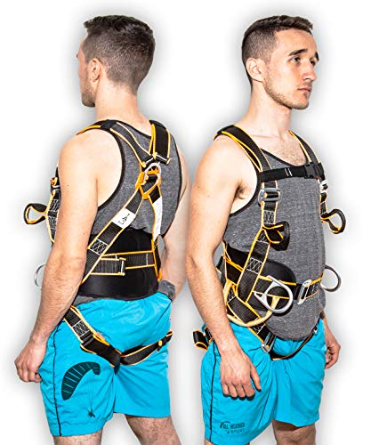 Kiting Harness | Kitesurfing Harness | Kite Surfing Kite Harness | Kitesurfing Equipment | Power Kite Pilot Wings | Paraglider Wing | Kite Surfing Training Kite harnesses For Ground -