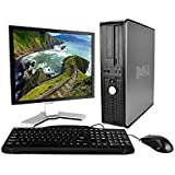 Dell OptiPlex Desktop Complete Computer Package with Windows 10 Home - Keyboard, Mouse, 17 LCD Monitor (Certified Refurbished)