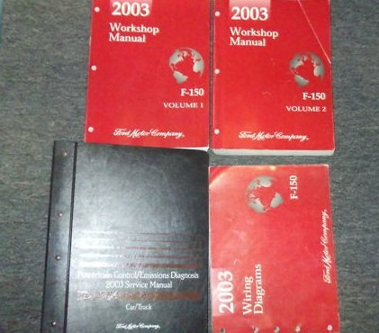 2003 ford windstar van service shop repair manual set oem factory rh amazon com 2003 ford f150 repair manual free 2003 f150 service manual pdf