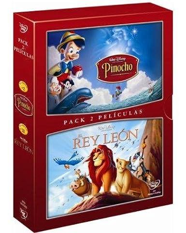 Pack: Pinocho + El Rey León [DVD]: Amazon.es: Vv. Aa.: Cine y ...