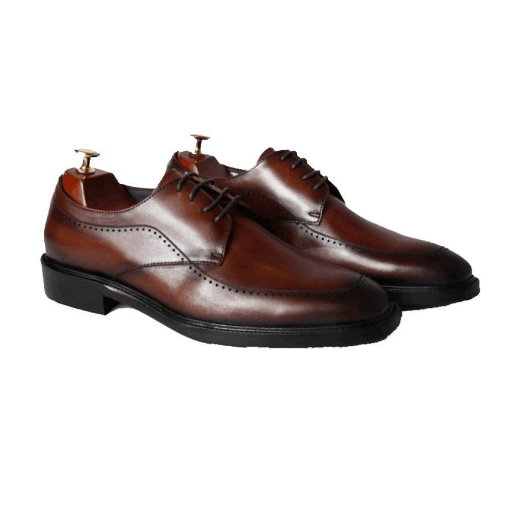 Männer Formelle Spitze Business Formelle Männer Wearable Nicht Slip Braun 71c358