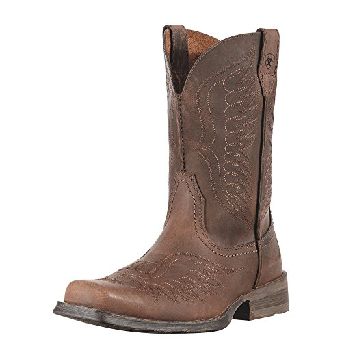 Ariat Men's Rambler Phoenix Western Cowboy Boot, Distressted Brown, 10 M US