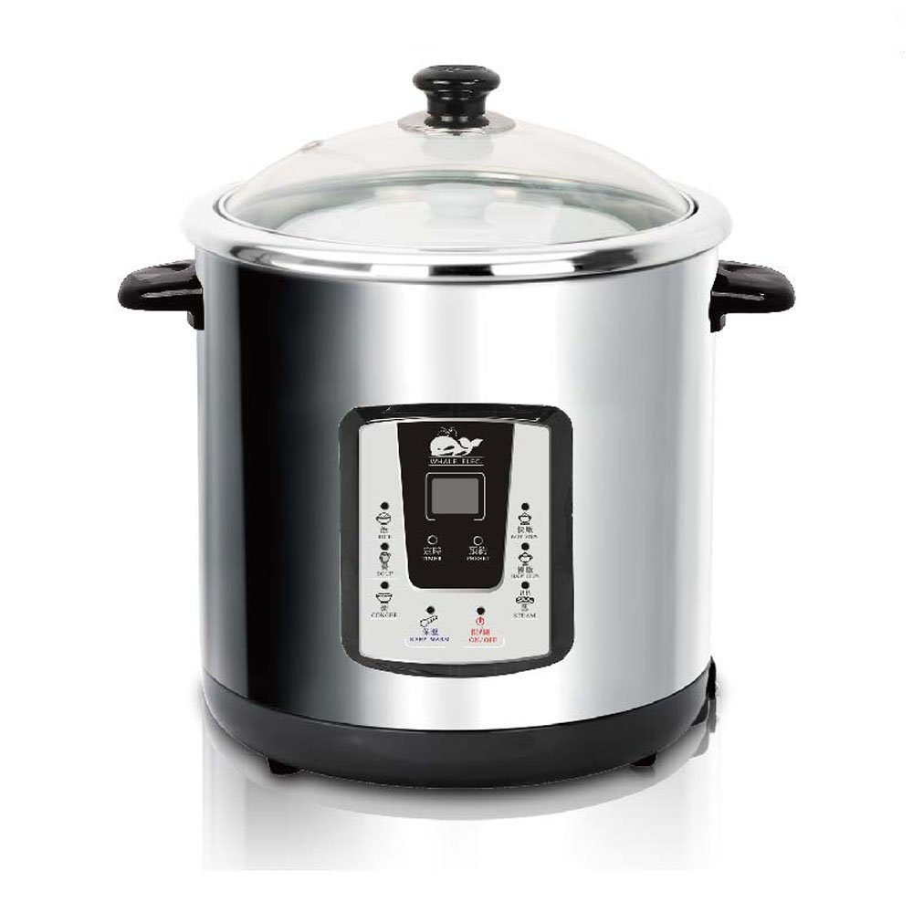 Whale Stainless Steel Stew Pot Whale Electronic Cookware WSP8000