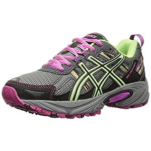 ASICS Women's Gel-venture 5 Running Shoe, Titanium/Pistachio/Pink Glow, 9.5 M US
