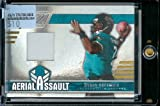 2005 Donruss Zenith Byron Leftwich Aerial Assault Jersey 44/250 Jacksonville Jaguars Football Card - Mint Condition - In Protective ScrewDown Case