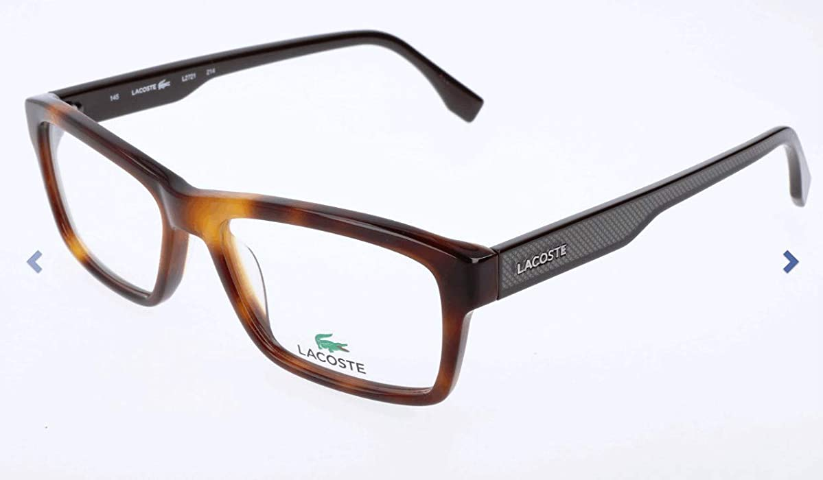 baf1a6fe637 New Lacoste Men s Eyeglasses L2721 214 5316 53 MM Glasses at Amazon ...