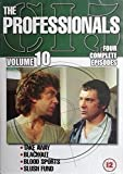 The Professionals: Vol. 10 (Take Away / Black Out / Blood Sports / Slush Fund) [DVD] [1980]
