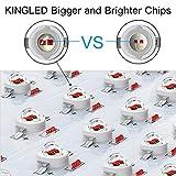 King Plus 1000w LED Grow Light Double Chips Full