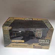 Unimax Forces of Valor 1:32 Scale U.S. M3A1 Half-Track Combat Proven Edition with Commander by Forces Of Valor