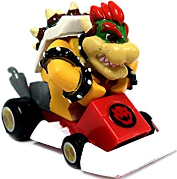 Tomy Mario Kart Ds Gashapon 1 5 Inch Pull Back Racer Bowser Square