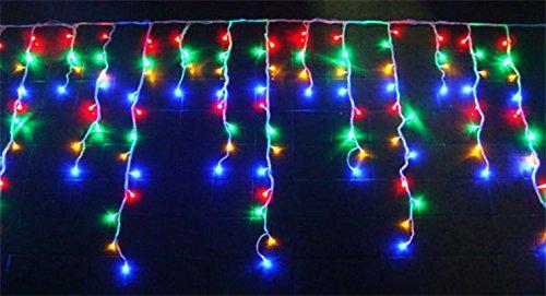 Cascata Pisca Pisca Led 480 Lampadas Led Natal Colorido