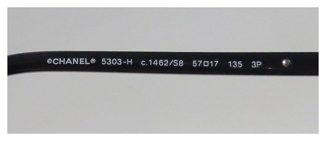 Amazon.com: Dólares 530 Chanel Negro anteojos de sol color ...