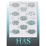zebra face paint - Half Ass Organic Stencils HAS5001