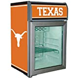 Texas Longhorns Glass Door Refrigerator