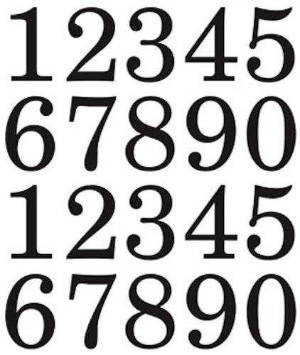 SRM Stickers 48095 We've Got Your Number, X-Large, Black ()