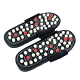 Per Newly Yoga Fitness Massage Slippers Acupressure Foot Massager Acupoint Massage Ball Slippers Shoes Reflexology Sandals for Men and Women