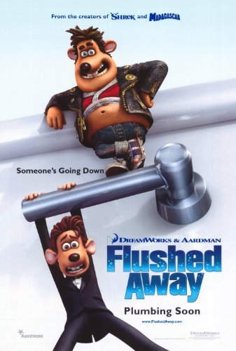 (Flushed Away POSTER Movie (27 x 40 Inches - 69cm x 102cm) (2006))