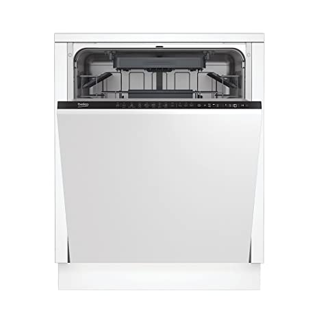 Beko DIN28221 Totalmente integrado 12cubiertos A++ lavavajilla ...